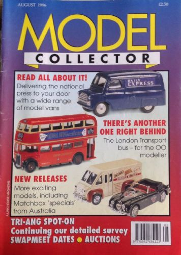 ORIGINAL MODEL COLLECTOR MAGAZINE August 1996